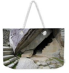 Weekender Tote Bag featuring the photograph Royal Tomb, Machu Picchu, Peru by Aidan Moran