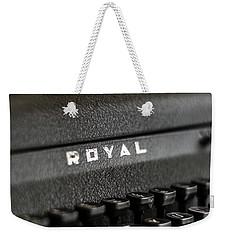 Royal Typewriter #19 Weekender Tote Bag