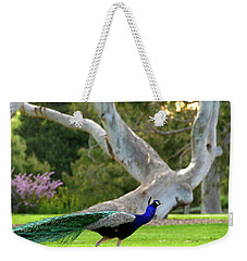 Weekender Tote Bag featuring the photograph Royalty by Evelyn Tambour