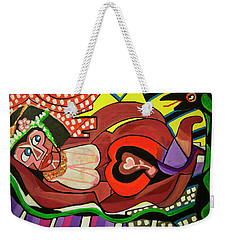 Royalty Queen Weekender Tote Bag