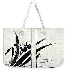 Weekender Tote Bag featuring the painting Roys Collection 2 by John Jr Gholson