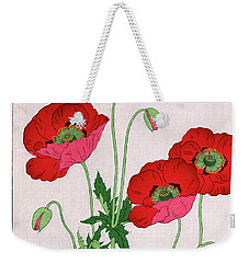 Weekender Tote Bag featuring the painting Roys Collection 7 by John Jr Gholson