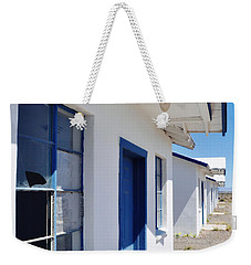 Roy's Motel And Cafe Auto Court Weekender Tote Bag by Kyle Hanson