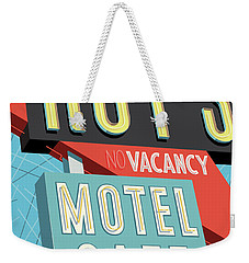 Roy's Motel Cafe Pop Art Weekender Tote Bag