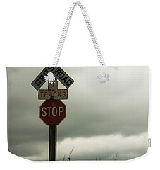 Rr Crossing Weekender Tote Bag