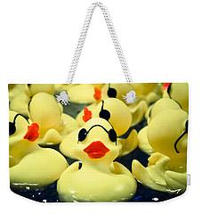 Rubber Duckie Weekender Tote Bag