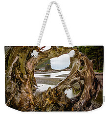 Ruby Beach Driftwood 2007 Weekender Tote Bag