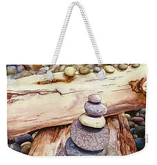 Ruby Beach Weekender Tote Bag by Anne Gifford