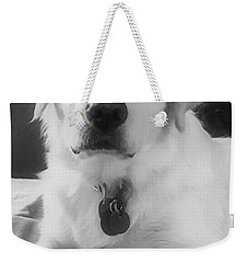 Weekender Tote Bag featuring the photograph Ruby by Bruce Carpenter