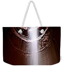 Weekender Tote Bag featuring the photograph Ruby Falls by Debra Forand