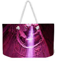 Ruby Falls Waterfall 5 Weekender Tote Bag