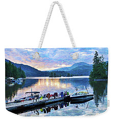 Ruby Lake Weekender Tote Bag by Ed Hall