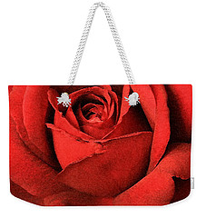 Ruby Rose Weekender Tote Bag by Marna Edwards Flavell
