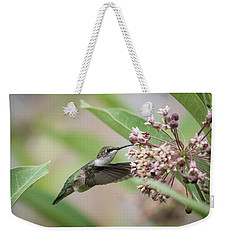 Ruby Throated Hummingbird 2016-1 Weekender Tote Bag