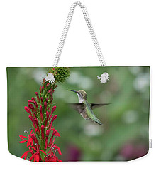 Ruby Throated Hummingbird 2016-4 Weekender Tote Bag