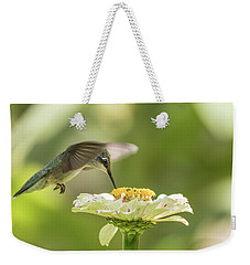 Ruby Throated Hummingbird 2016-8 Weekender Tote Bag