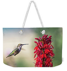 Ruby Throated Hummingbird 2017-2 Weekender Tote Bag
