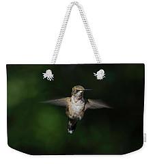 Ruby Throated Hummingbird Weekender Tote Bag