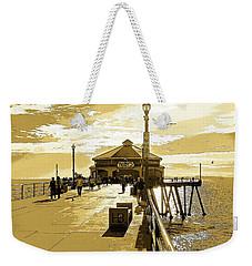Ruby's At The Pier Weekender Tote Bag by Everette McMahan jr