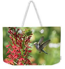 Rubythroated Hummingbird 2016-3 Weekender Tote Bag