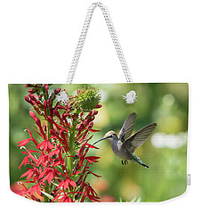 Rubythroated Hummingbird 2016-3 Weekender Tote Bag