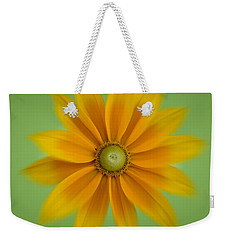 Rudbeckia Blossom Irish Eyes - Square Weekender Tote Bag