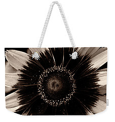 Weekender Tote Bag featuring the photograph Rudbeckia 'denver Daisy' by Ann Jacobson
