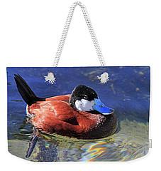 Ruddy Duck 2 Weekender Tote Bag