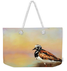 Ruddy Turnstone Weekender Tote Bag
