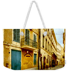 Weekender Tote Bag featuring the photograph Rue De La Violette by Scott Carruthers