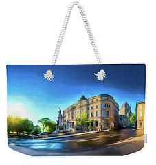 Rue Port Dauphin - Painting Weekender Tote Bag