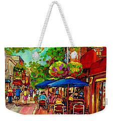 Rue Prince Arthur Montreal Weekender Tote Bag