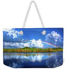 Rue's Rainbow Weekender Tote Bag