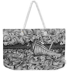 Ruff Sea Weekender Tote Bag