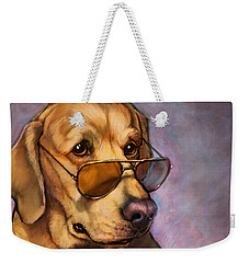 Ruff Whiskey Weekender Tote Bag by Sean ODaniels