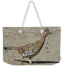 Ruffed Grouse In The Gros Ventre Weekender Tote Bag
