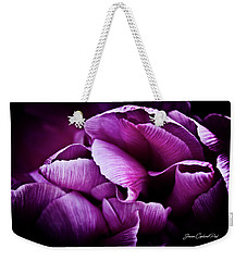 Ruffled Edge Tulips Weekender Tote Bag by Joann Copeland-Paul