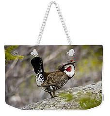 Ruffled Grouse Weekender Tote Bag