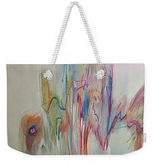 Ruffled Weekender Tote Bag