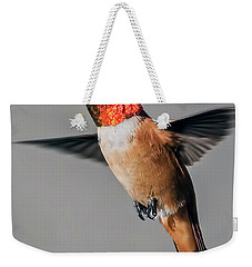 Rufous Male In-flight Weekender Tote Bag