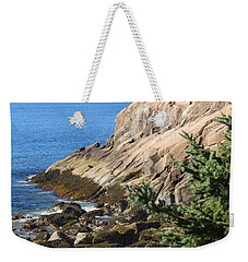 Rugged Coastline Weekender Tote Bag