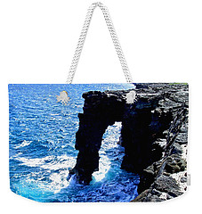 Rugged Kona Sea Arch Weekender Tote Bag by Amy McDaniel