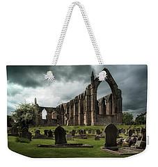 Ruins Of Bolton Abbey Weekender Tote Bag by Jaroslaw Blaminsky