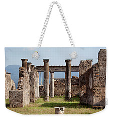 Ruins Of Pompeii Weekender Tote Bag