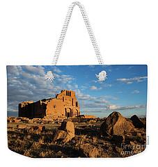 Ruins Of Yereruyk Temple Under Amazing Cloudscape, Armenia Weekender Tote Bag