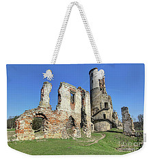 Weekender Tote Bag featuring the photograph Ruins Of Zviretice Castle by Michal Boubin