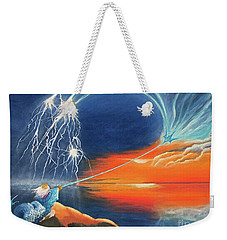 Ruler Of The Seas Weekender Tote Bag by Cindy Lee Longhini