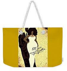 Run Away Weekender Tote Bag by Romaine Head