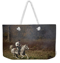 Running At Shooters Roost Weekender Tote Bag