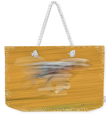 Weekender Tote Bag featuring the photograph Running At The Dog Park 2 by Kae Cheatham
